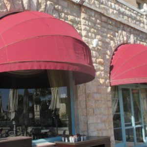 Dome Wedge Awnings