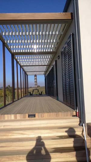 Adjustable louvers roofs cape town